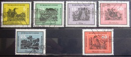 ALLEMAGNE Rep.Démocratique                  N° 413/418                        OBLITERE - Used Stamps