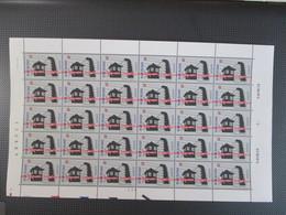 2597 - Bevrijding Der Kampen - Volledig Vel Plaatnummer 2 - 15 Doorlopers - Cote 127.50 - Unused Stamps