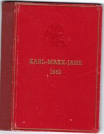 RDA Superbe Livret Karl-Marx-Jahr De 1953. Feuillets Cartonnés Non Dentelés. Rare! TB - Complet - [6] Democratic Republic