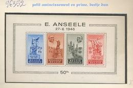Bloc 26 *. Anseele Adhérence Et Petit Défaut. Cote 95,-€. - Blocs 1924-1960