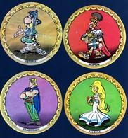 Images Publicitaires La Vache Qui Rit Collection Personnages Astérix Légionnaire 4ex 1967 Années 1960 Voir Explications - Autres
