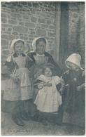 PLUMELIAU - Femme Et Enfants - Frankreich