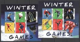 Y504 2014 LIBERIA SPORT WINTER GAMES #6385-94 MICHEL 26 EURO 2KB MNH - Hiver
