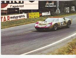 Le Mans 72 - Une Ford En Peine Vitesse - Ansichtskarten