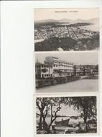 1 CPA+2 CPSM:MARTINIQUE FORT DE FRANCE VUE,VUE DES HÔTELS,VUE SUR LA BAIE - Fort De France