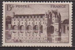 Sites Touristiques - FRANCE - Chateau De Chenonceau - N° 610 ** - 1944 - Unused Stamps
