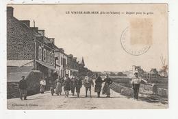 LE VIVIER SUR MER - DEPART POUR LA PECHE - 35 - France