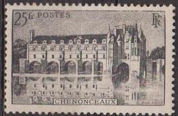 Sites Touristiques - FRANCE - Chateau De Chenonceau - N° 611 * - 1944 - Unused Stamps