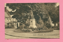 C.P. Péruwelz = Monument  1914-1918 - Péruwelz