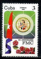 CUBA 1980 2492 20th Anniversary Of The Cuban Women's Federation - Stamps