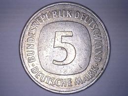 MONNAIE ALLEMAGNE 5 MARK 1975 J - [ 7] 1949-… : RFA - Rép. Féd. D'Allemagne