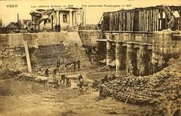 CPA - Belgique - Yser - Les Célèbres Ecluses En 1917 - Nieuwpoort