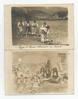 Albanie Types De Femmes Albanaises Lot 2 Cartes Photos Campagne D'orient 1917-18 - Albania
