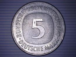 MONNAIE ALLEMAGNE 5 MARK 1975 F - [ 7] 1949-… : RFA - Rép. Féd. D'Allemagne