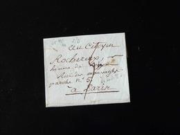 LETTRE DE MEAUX POUR PARIS - 1801-1848: Precursori XIX