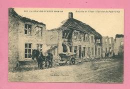 C.P. Pervijze = Puinen Oorlog  1914-1918    :  Une  Rue - Diksmuide