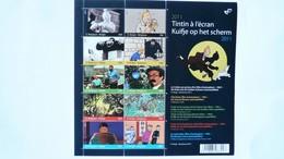 COB  BL 192** Neuf 2011 – Tintin à L'écran  - 10 Timbres COB 4185/4174 - Blocs 1962-....