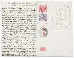 DANEMARK - 1924 - CP ENTIER TYPE CHRISTIAN X EMISSION 1921 AVEC REPONSE PAYEE De COPENHAGUE => MENTON (ALPES MARITIMES) - Interi Postali
