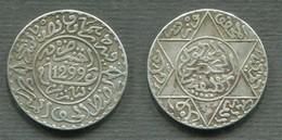 MAROC SOUS PROTECTORAT FRANCAIS - 2 1/2 DIRHAMS 1299 PARIS - Kolonies