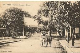 Cad-diego Suarez-boulevard Etienne-marseille A La Reunion N°6-cpa - Schiffe