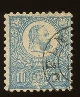 1871.  10 Kr Litho. Steindruck Yv.4.  Cote 100,-€ - Hongrie