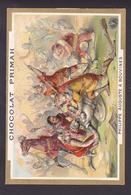 R428 - Chromo - Chocolat Primah - Philippe Auguste à Bouvines - Chocolat