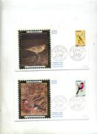 Lettre Fdc  1974 Oiseau - FDC