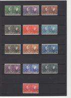 Belgique: 1922. COB 221/33. Oblitéré(s).  Cote 1920 : 70 € - Gebraucht