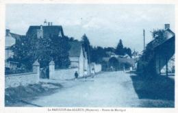 53 - Mayenne - LA BAZOUGE Des ALLEUX - Route De Martigné - Otros Municipios