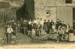 Linay Vue Du Terrassement De Victor Risse,boulanger à Linay - Frankrijk