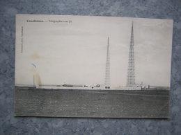 MAROC - CASABLANCA - TELEGRAPHIE SANS FIL - Casablanca
