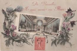 A7- 78) DE VERSAILLES , JE VOUS ENVOIE CES FLEURS - (GALERIE DES BATAILLES) - Versailles (Château)