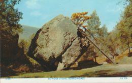 Postcard - Bowder Stone, Borrowdale  - Card No.Lk37b Unused Very Good - Unclassified