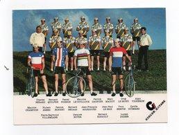 CYCLISME   Tour De France  EQUIPE GITANE RENAULT 1981 - Cycling