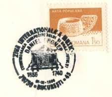 8190  Daniel Croner, Orgue: Oblitération Temp. Roumanie, 1990 - Organ Special Cancel From Romania - Musique