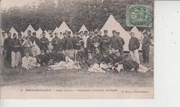 77 FONTAINEBLEAU  -  Camp D'Avon  -  Infanterie Coloniale - Musique  - - Fontainebleau
