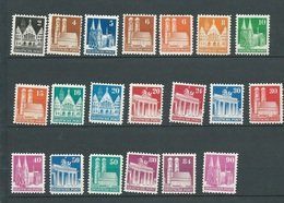 Bizone  Série  Yvert 41 à 64 ** Neuve Sans Charniere, Manque 4  Valeurs 46,50 55,61  Reste 36 Euros De Cote -ay125 - Zona Anglo-Americana