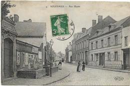 59. SOLESMES.  RUE HAUTE - Solesmes