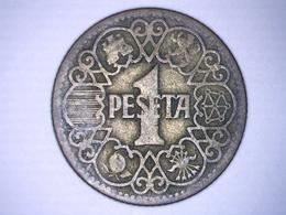 ESPAGNE 1 PESETA 1944 - [ 4] 1939-1947 : Gobierno Nacionalista