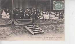 77 FONTAINEBLEAU  -  Le Raid Hippique  -  Le  Carrousel  -  La Tribune Officielle  - - Fontainebleau