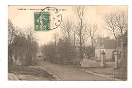 CPA 18 Cher : GRACAY Route De Vatan Avenue De La Gare - Autres Communes