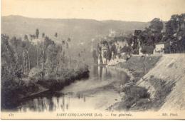 CPA - ST CIRQ-LAPOPIE - VUE GENERALE - France