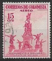 Colombia 1954. Scott #C242 (U) Bolivar Monument - Colombia