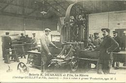 LE HAVRE  - Scierie E. DEVEAUX Et Fils  - (outillage GUILLET Et Fils à Auxerre - Other
