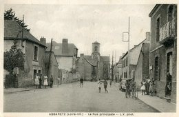 44 - Loire Atlantique - Abbaretz - Le Rue Principale   (0487) - Otros Municipios