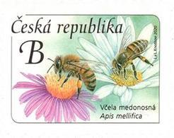 1069 Czech Republic Honey Bee 2020 - Repubblica Ceca