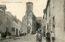 44 - Loire Atlantique - Abbaretz - Rue De L'Eglise  (0489) - Otros Municipios