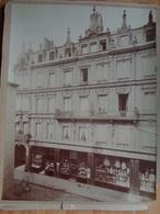 METZ PHOTO ANCIENNE RUE SERPENOISE COMMERCE  MAISON HUMBERT WOLFF Gd. FORMAT 23 X 30 Cm MOSELLE - Anciennes (Av. 1900)