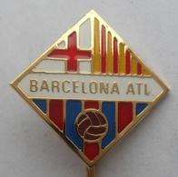 BARCELONA ATL, SPAIN FOOTBALL CLUB, SOCCER / FUTBOL / CALCIO PINS BADGES PLAST - Football