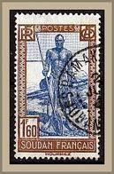 (91) Französisch Sudan 1931 Life In Sudan - Sudanese Boatman O Used/gestempelt (A-8-14) - Neufs